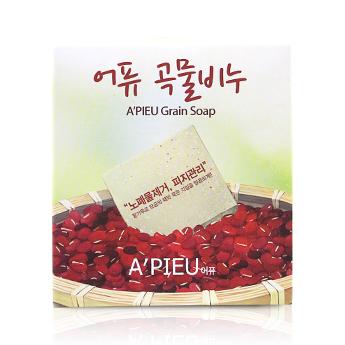 A'pieu 特級紅豆天然植物洗面皂