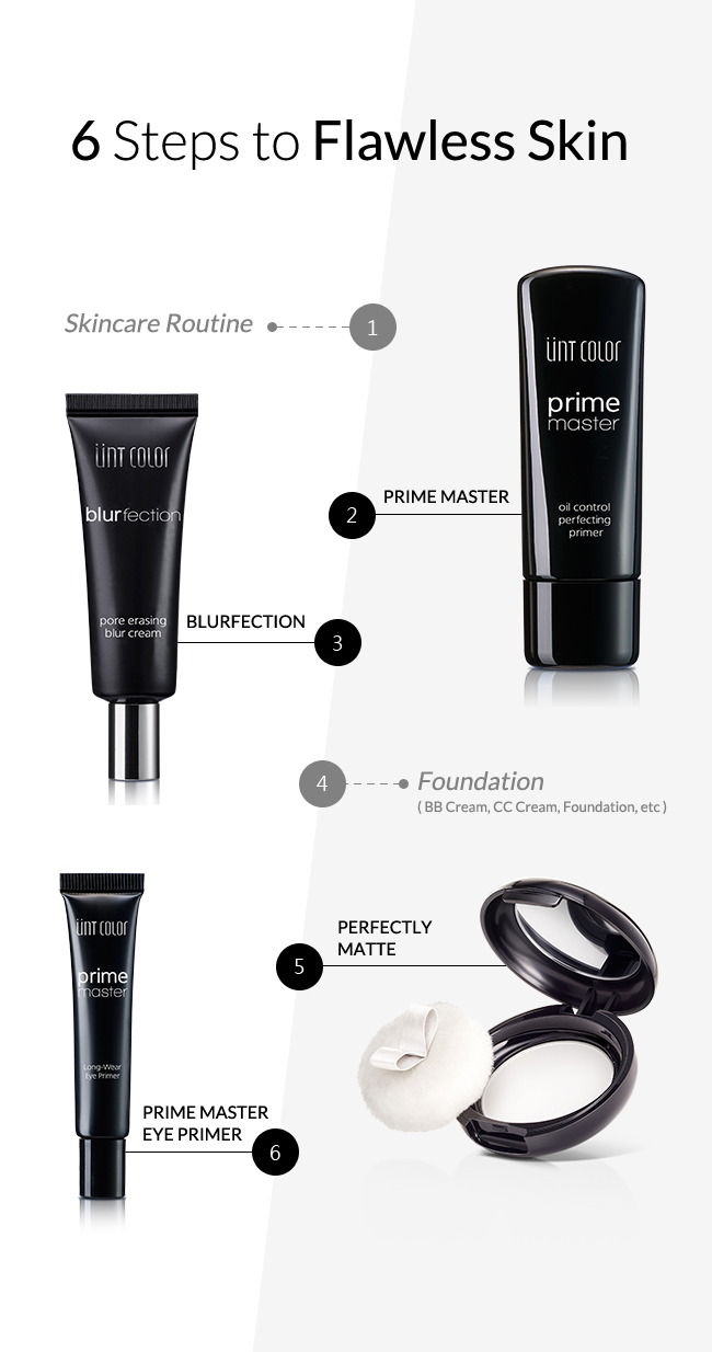 6 Steps to Flawless Skin