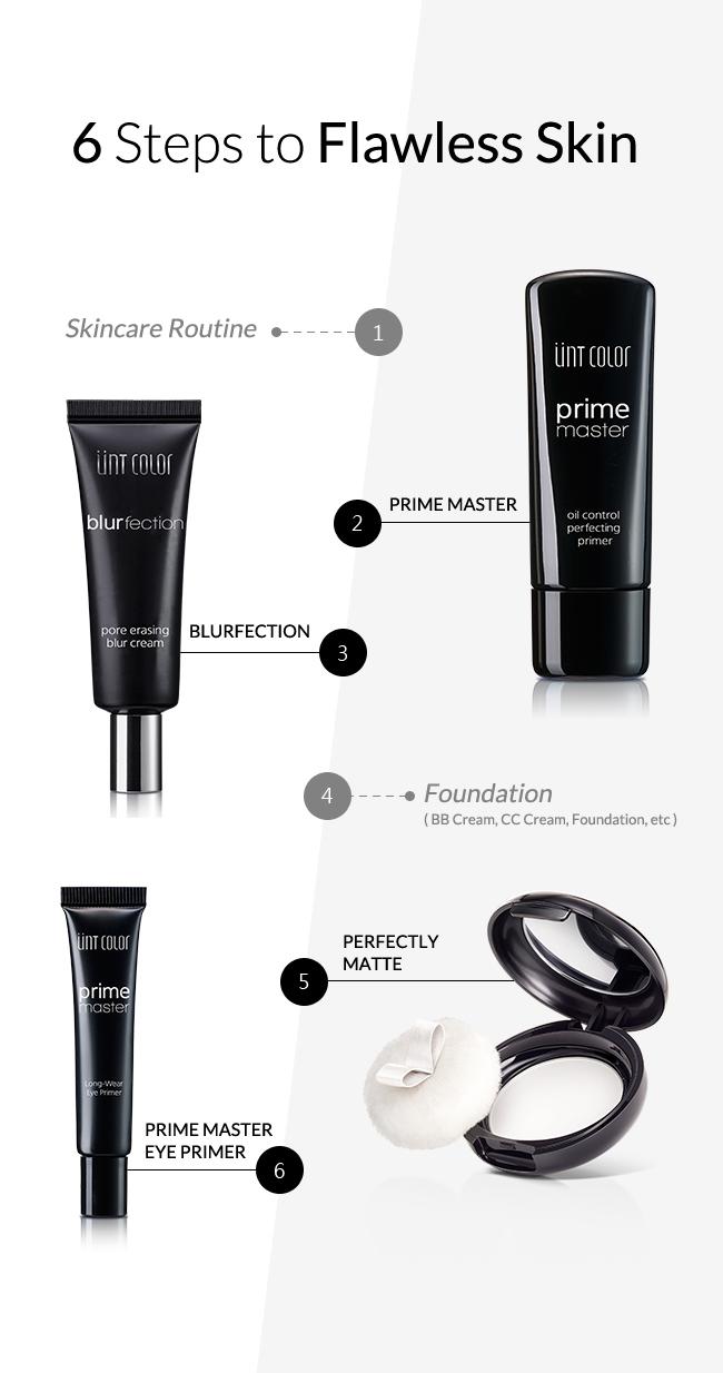 6 Steps to Flawless Skin